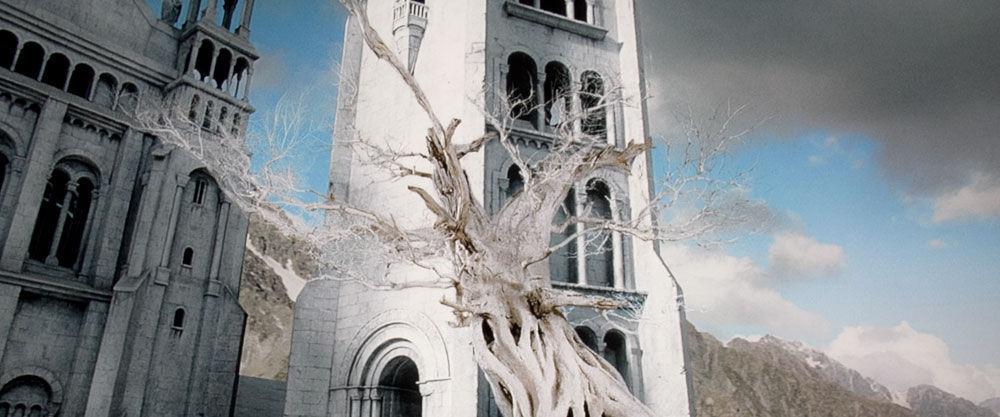¿Quién trajo una semilla del Árbol Blanco desde Númenor hasta Minas Tirith?