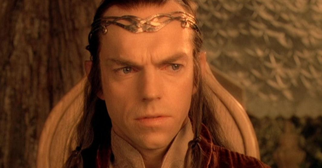 ¿Quién es la mujer de Elrond?