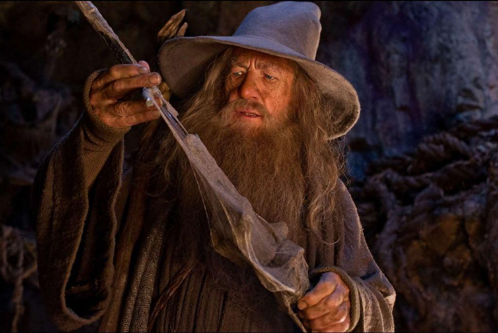 ¿Cómo se llama la espada de Gandalf?
