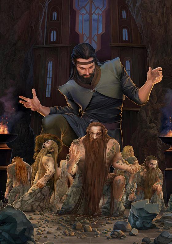 ¿Qué Valar creó a los Enanos?