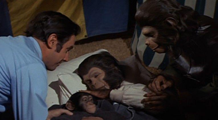 ¿Cuáles son las primeras palabras de César en Conquest of the Planet of the Apes?