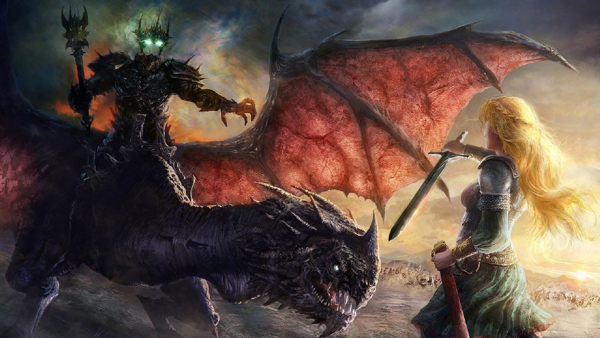 ¿Antes de su lucha con Éowyn con qué montura va (EN EL LIBRO) el Rey Brujo?