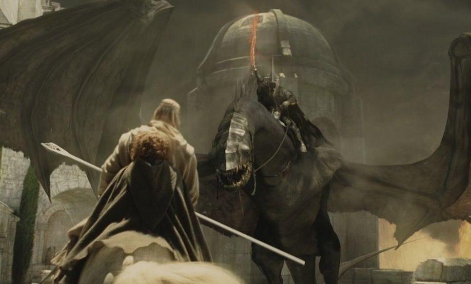 ¿En el libro realmente el Rey Brujo puede vencer a Gandalf el Blanco?