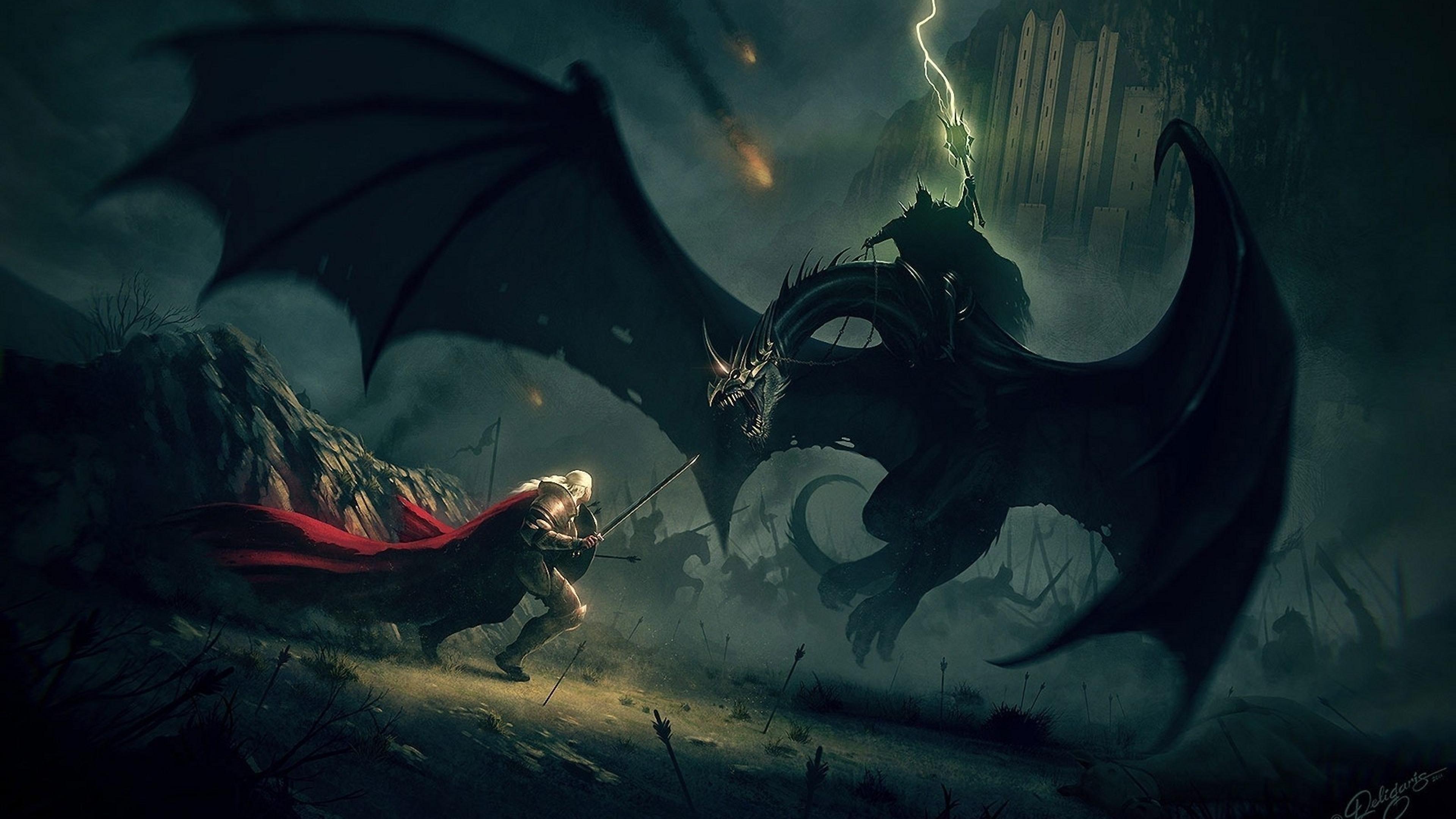 En la película la bestia alada muerde en el cuello a Crinblanca, el caballo de Theoden. ¿En el libro cómo ocurre?