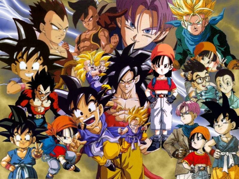 9422 - ¿Reconoces a estos personajes de Dragon Ball GT?