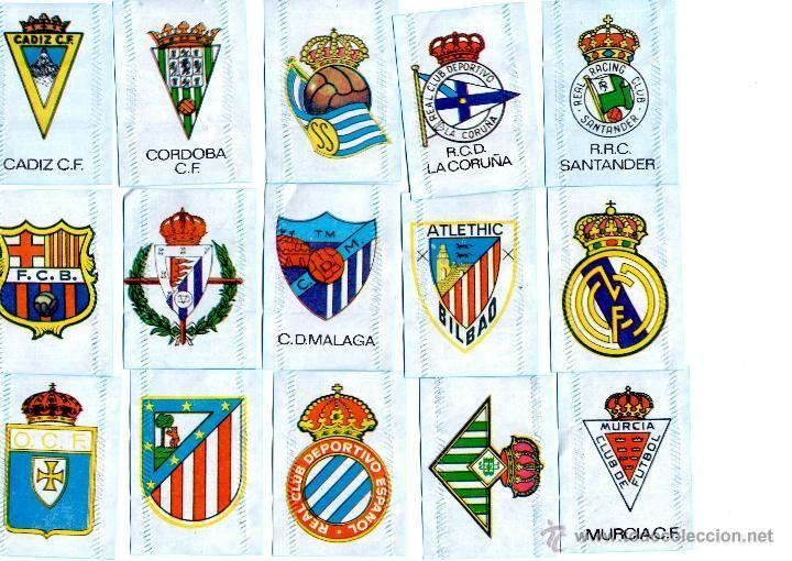 9351 - Escudos de fútbol antiguos