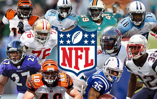 9501 - ¿Sabes el nombre de estos jugadores de la NFL?