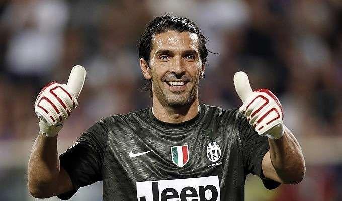 ¿Durante cuantas temporadas ha defendido Gianluigi Buffon la portería de la Juventus hasta ahora?