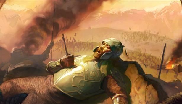 En una terrible batalla el Rey de Arthedain muere ante las hordas del Rey Brujo. ¿Cuál era su nombre?