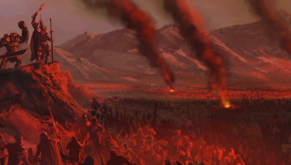 Las tropas de Arthedain se replegaron a un bastión muy fortificado que luego jugaría un papel crucial en la Guerra del Anillo...