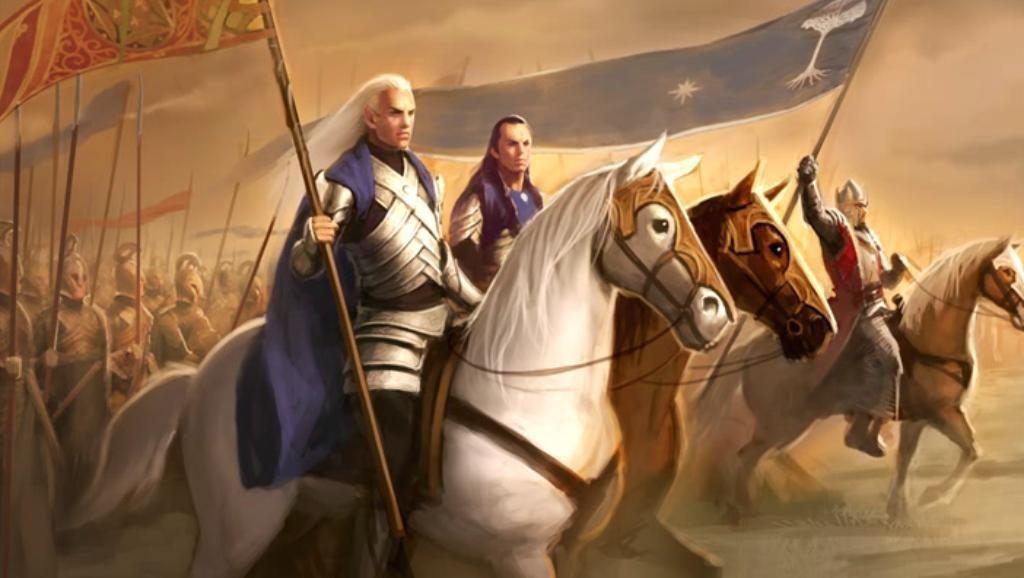 Un año después el Príncipe de Gondor y sus aliados elfos atacaron al Rey Brujo. ¿Quién de ellos no participó en la contienda?