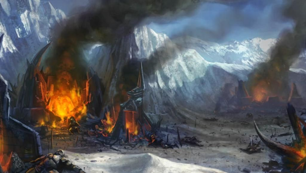 La batalla es sangrienta y el ejército del Rey Brujo es exterminado por completo. ¿Qué se pensaron que era el Rey Brujo?