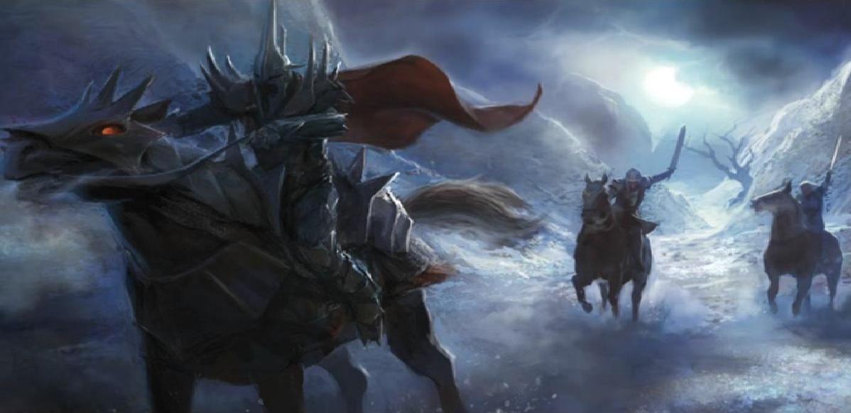 Huye a Mordor. Así se descubre que en realidad era el señor de los nazgul. ¿Cuál fue su siguiente movimiento?