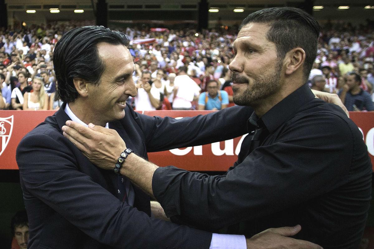 ¿Cuántos puntos terminaron separando al Atlético (3º) del Sevilla (5º) a final de temporada?
