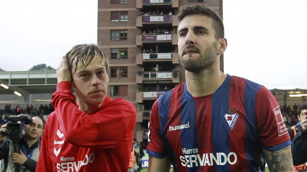 El Eibar acabaría en zona de descenso con 35 puntos ¿Cuántos puntos hizo durante la segunda vuelta de la liga?