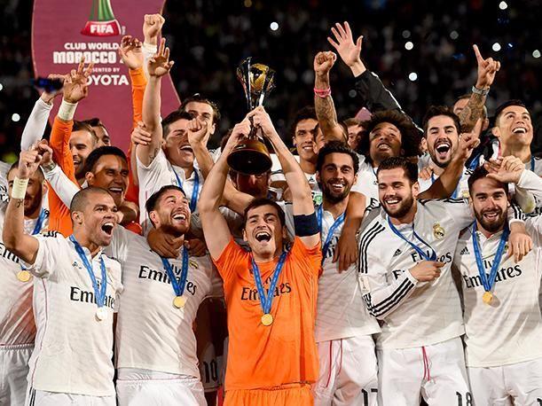 Antes de irse a jugar el Mundial de Clubes, ¿Cuántos puntos le sacaba el Real Madrid al FC Barcelona?