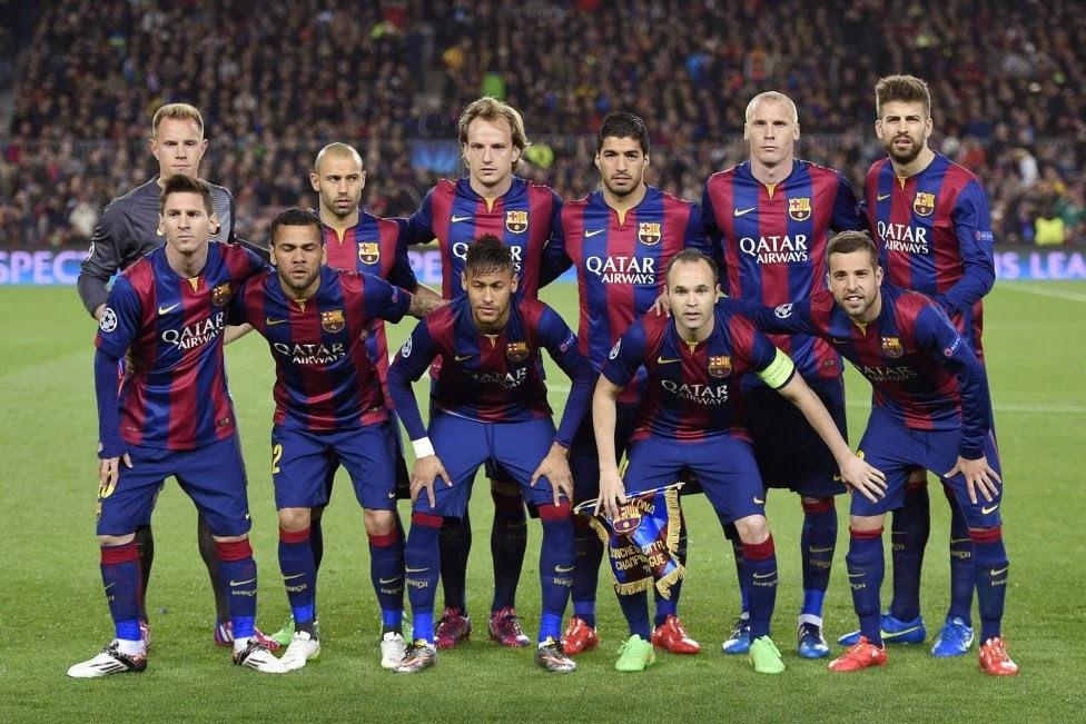 3550 - ¿Qué jugador del FC Barcelona eres?