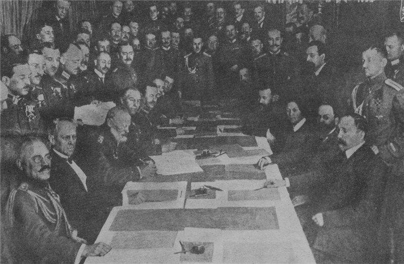 ¿Qué tratado no se firmó después de acabar la I Guerra Mundial?