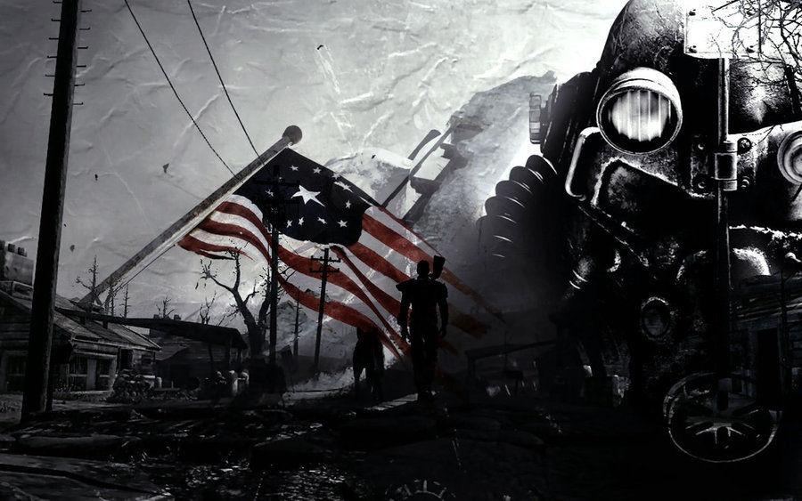 Pasas por una zona de alcantarillado, y al asomarte ves el cadáver de lo que parece un soldado de la Hermandad del Acero.