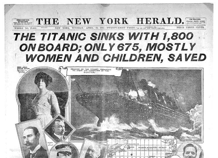 ¿Sabrías decir el número de mujeres que había en la tripulación del Titanic?