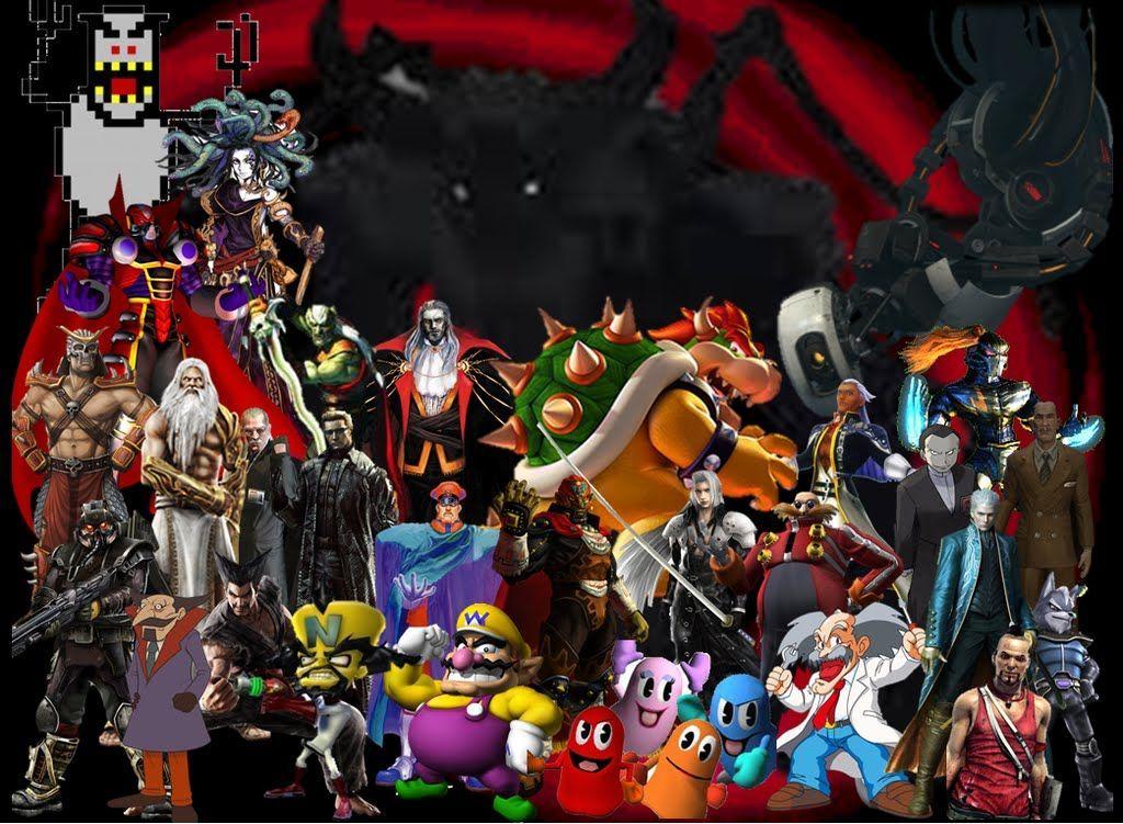2328 - ¿Eres capaz de relacionar a estos villanos con sus videojuegos?