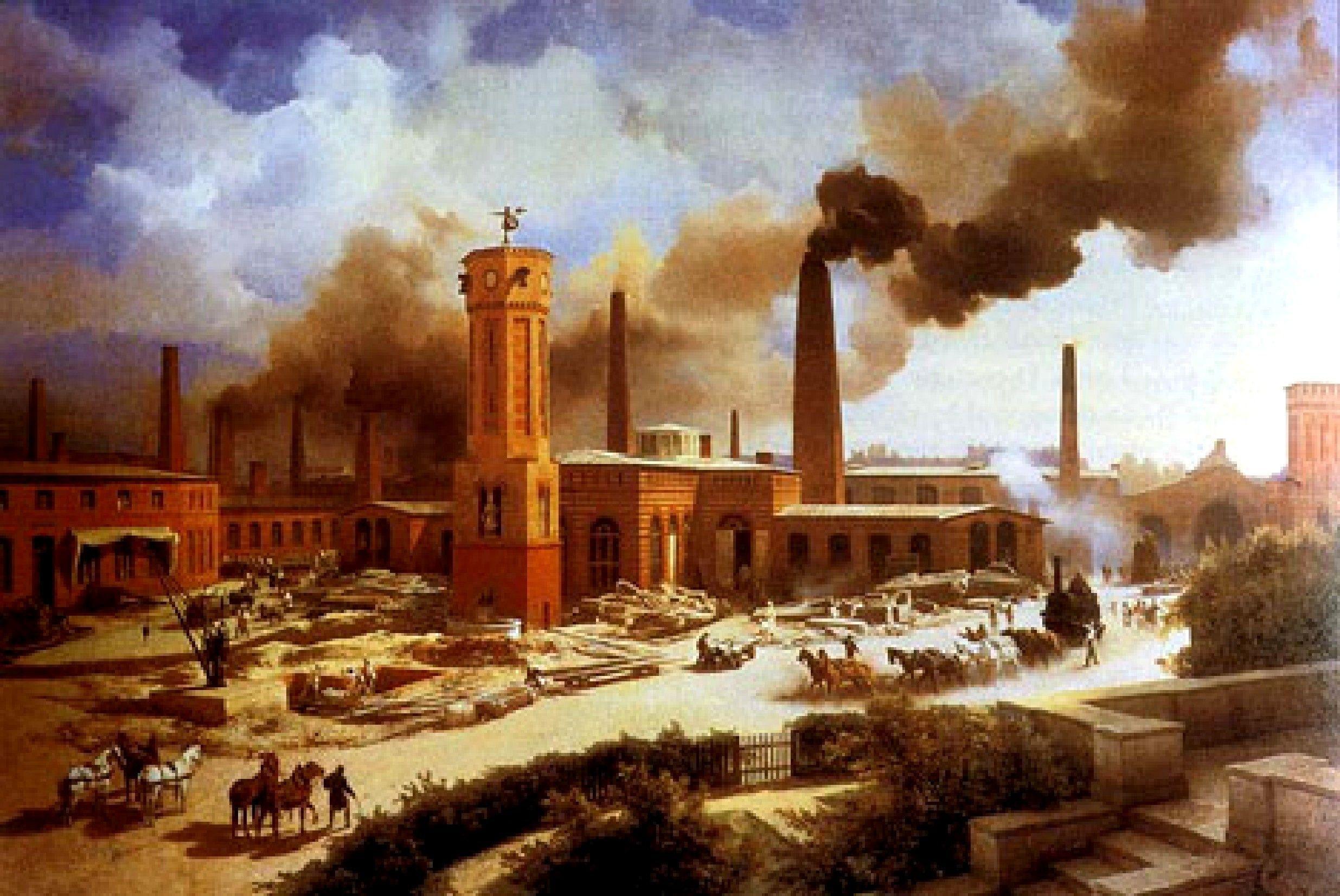 ¿Dónde y cuándo se inicia la Revolución Industrial?
