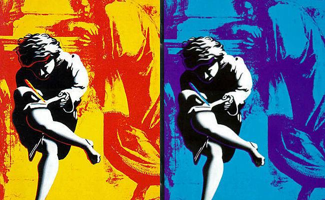 Use Your Illusion de Guns N' Roses contiene un fragmento de un famoso cuadro. ¿Cuál es?