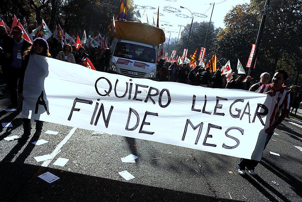 El número de pobres en España es de unas 13 millones y medio de personas. ¿Cómo ves este dato?