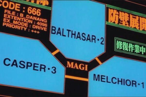 MAGI es un superordenador en el que fueron implantadas tres de las personalidades su creadora estas fueron ...