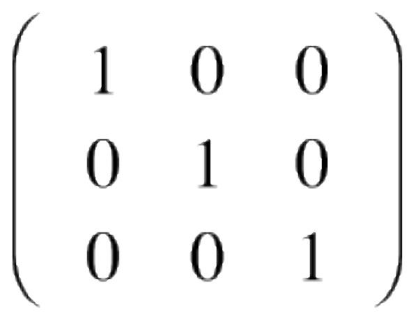 Dada esta matriz, calcula su inversa: