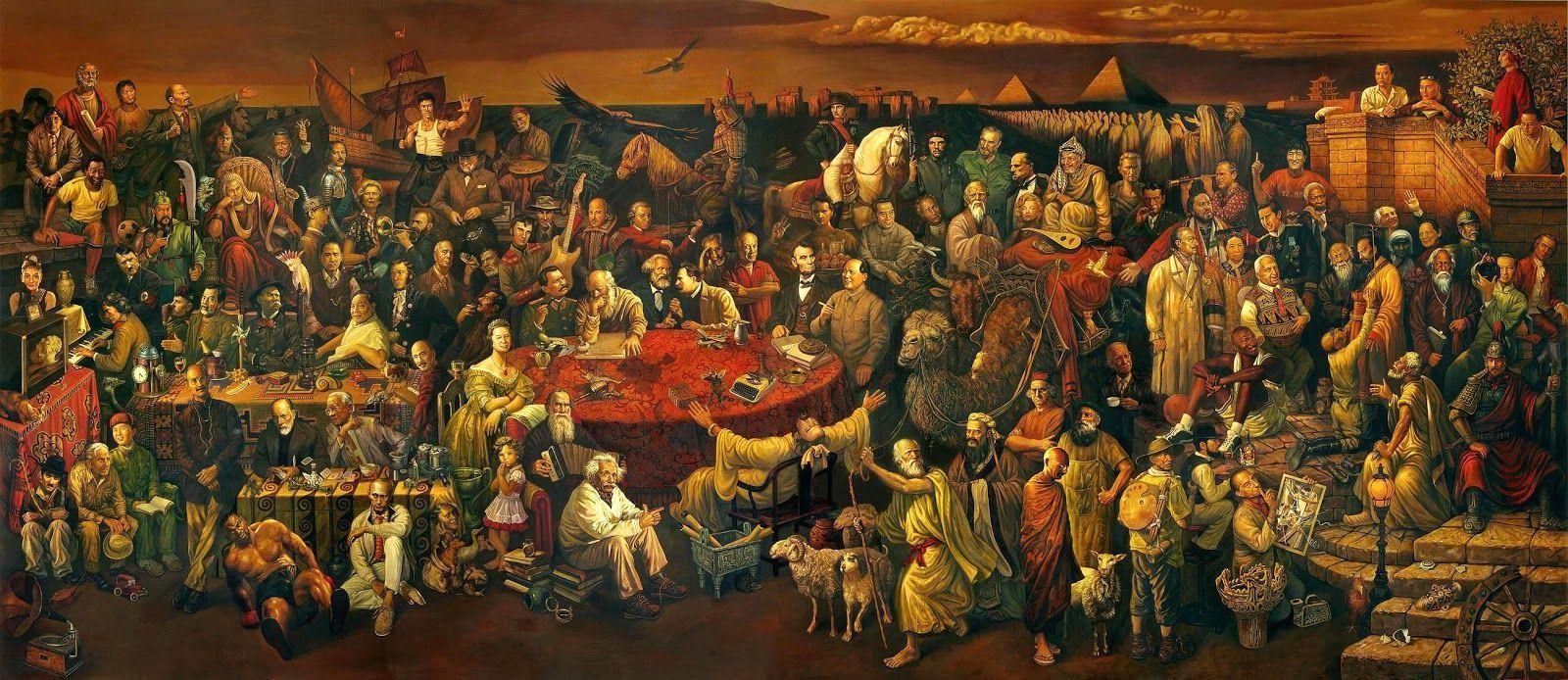 2605 - ¿Identificas a todos estos personajes de nuestra historia?