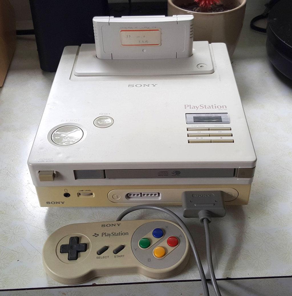 ¿En qué año se descubrió el prototipo de la SNES-CD?