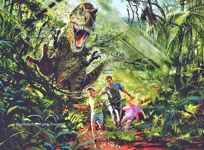 ¿Cómo se llama el autor de la novela que Spielberg utilizó para crear Jurassic Park en el cine?