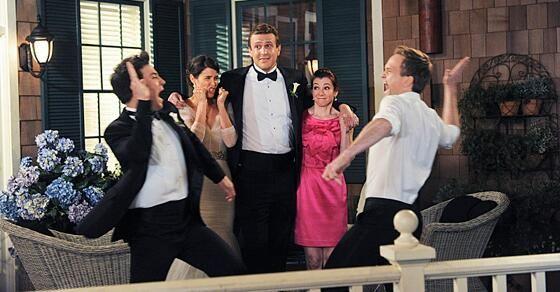 En la despedida de Ted durante la boda de Barney y Robin, ¿Qué rememora Ted con Barney?