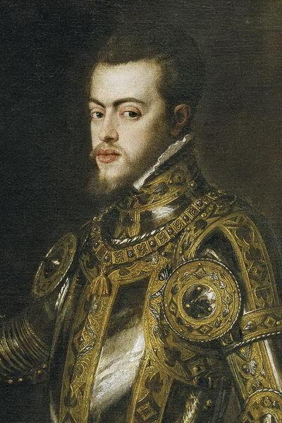 ¿En qué trifulca militar bajo el reinado de Felipe II participó?