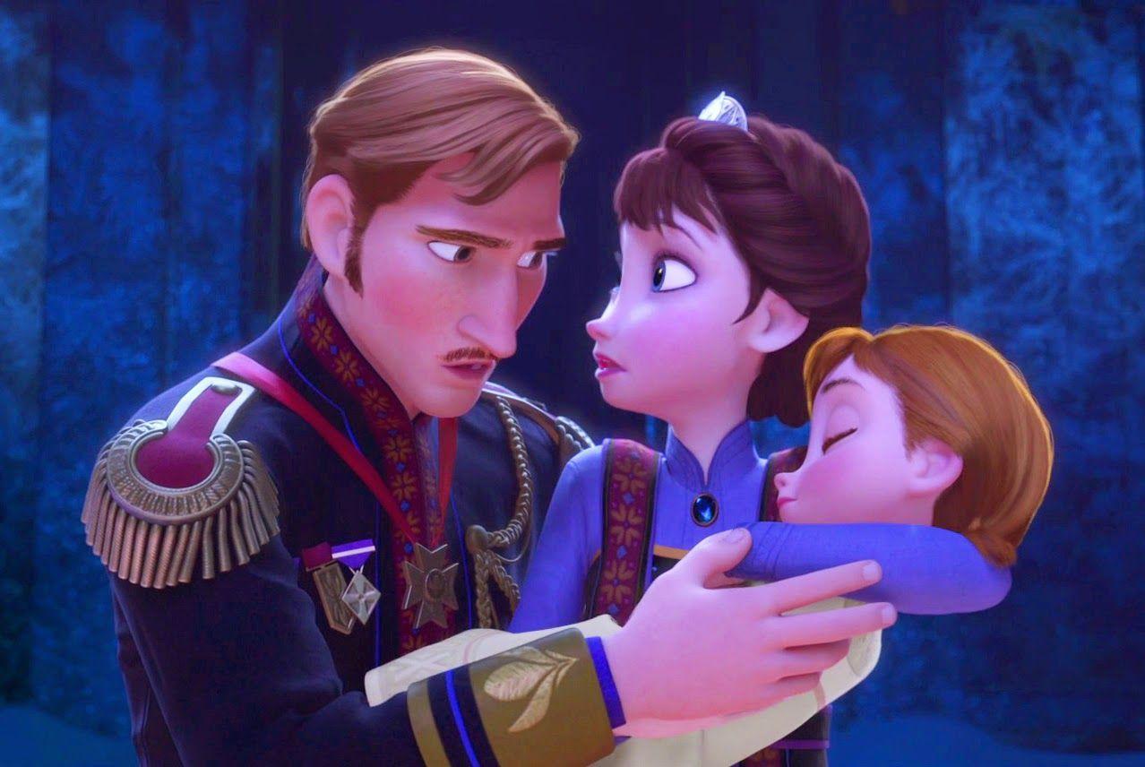 ¿Cómo mueren los padres de Anna y Elsa?