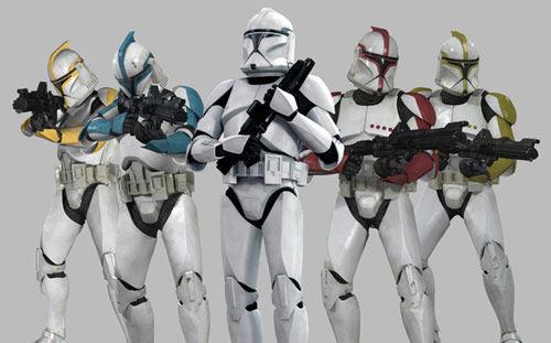¿Cúal de sus aprendices ordenó la creación de los clones?