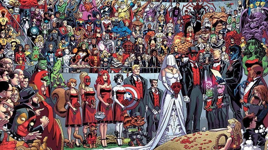 ¿Con quién se casa Deadpool?