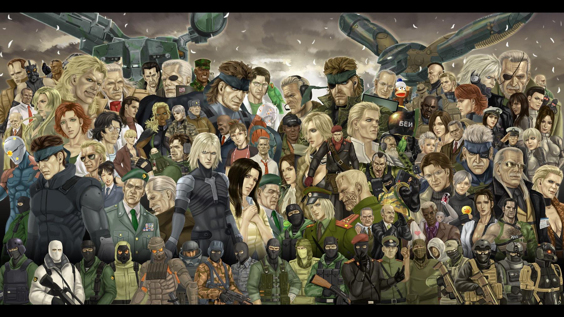 ¿Cuántos personajes son jugables en toda la saga canon?