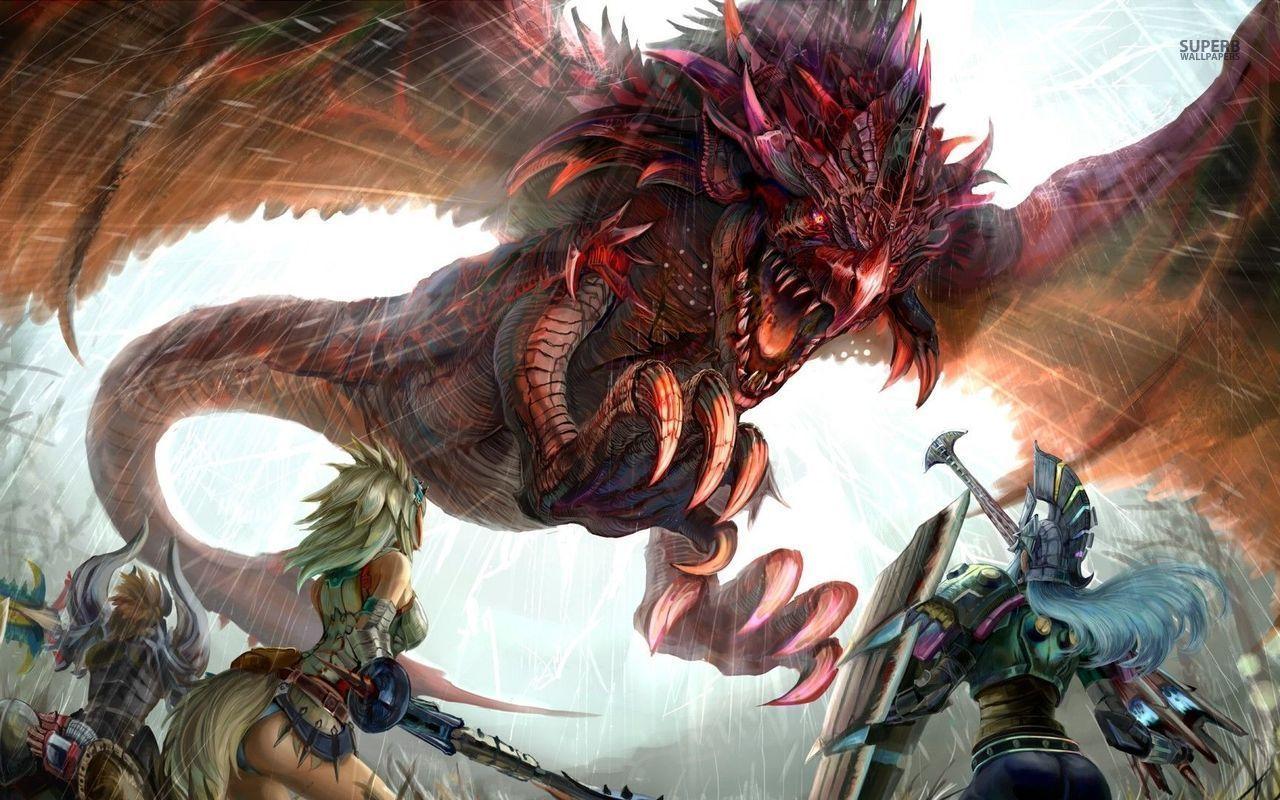 Al llegar a los muros de la ciudad ves que tus compañeros se están enfrentando a las dos bestias junto al campo exterior