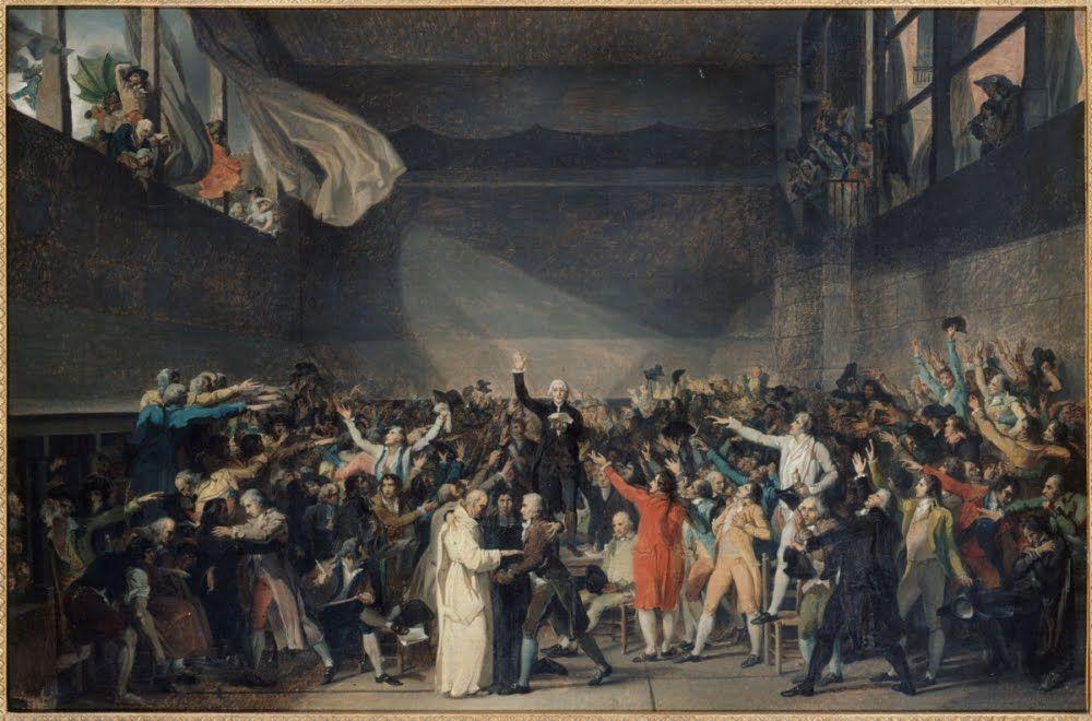 ¿Qué se jura en la Sala de Juego de Pelota en Versalles?