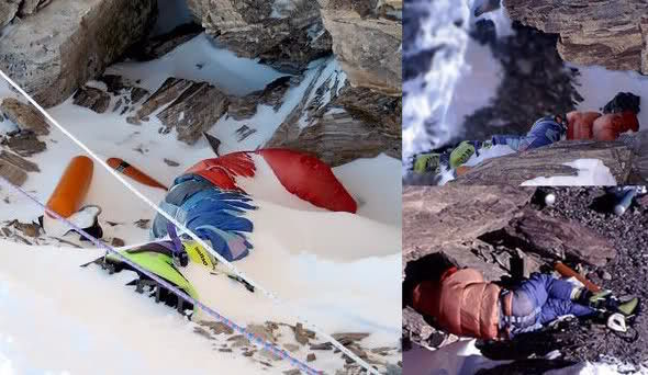 ¿Si un escalador cae al suelo y no se puede levantar que deben hacer los otros?