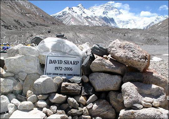 ¿Quién fue David Sharp?