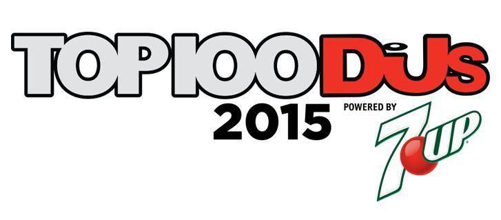 ¿Qué posición ocupa Martin en el Top 100 DJ's de 2015?