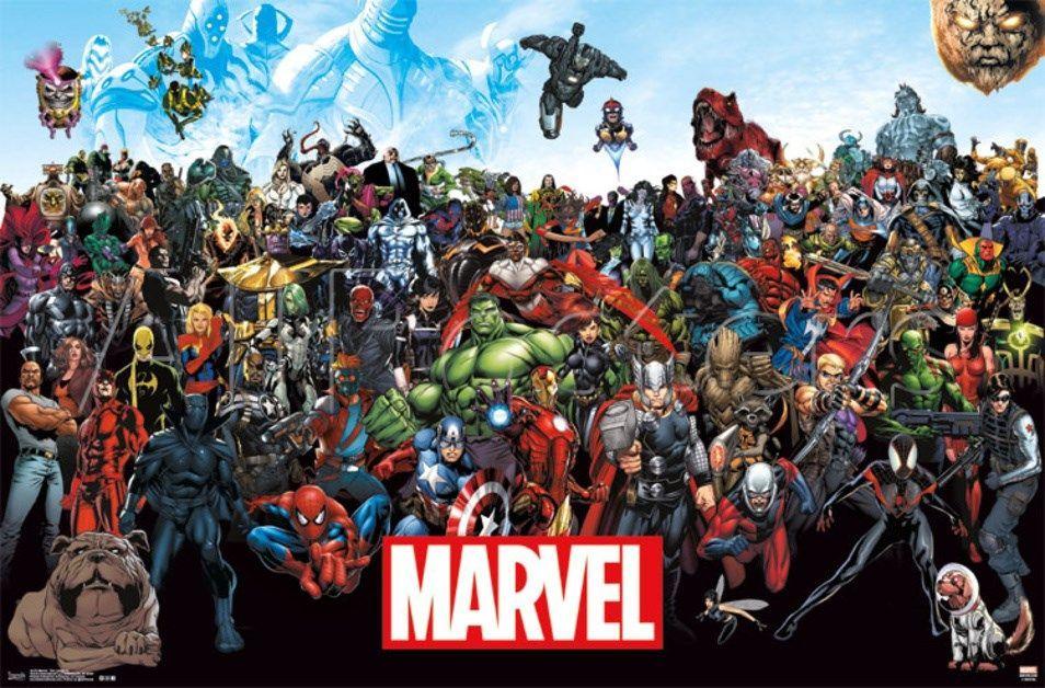 2573 - ¿Reconocerías a todos estos héroes/villanos de Marvel?