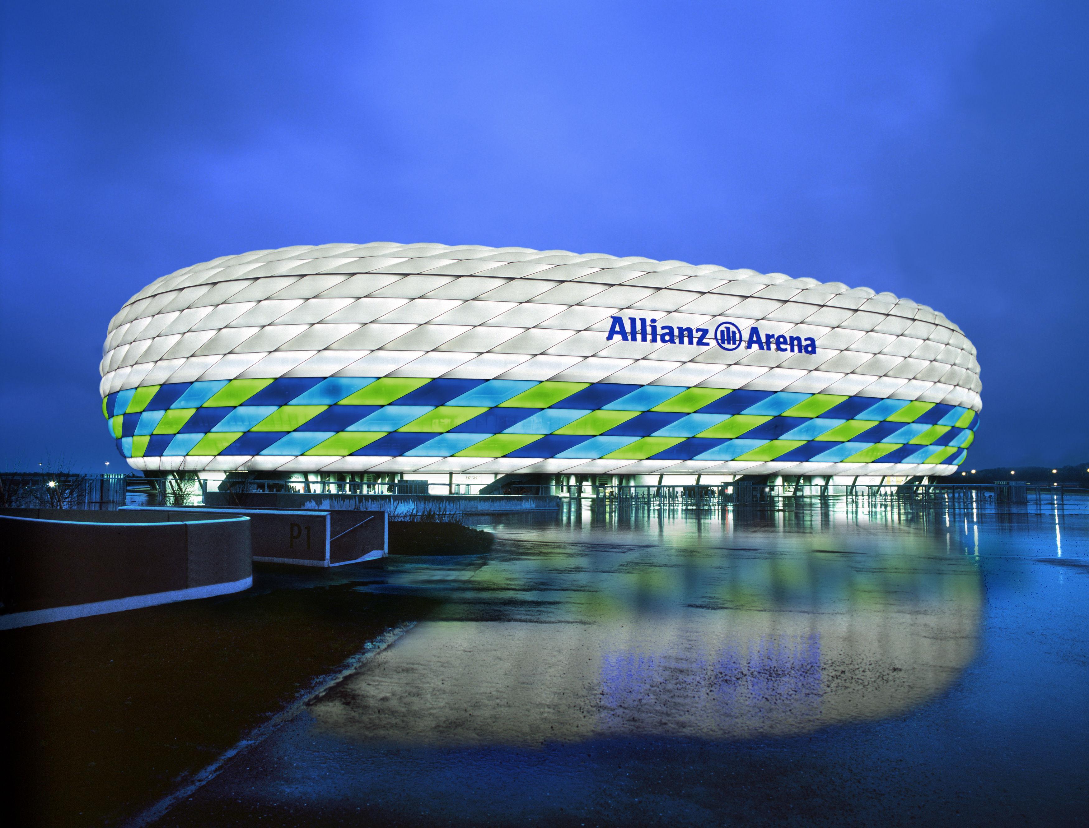 ¿Quién juega en el Allianz Arena?