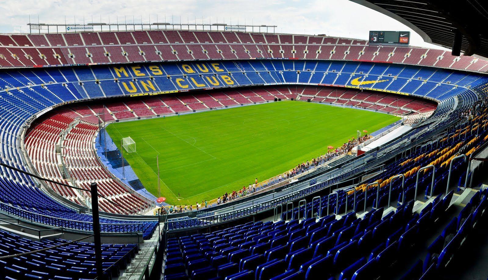 ¿Quién juega en el Camp Nou?
