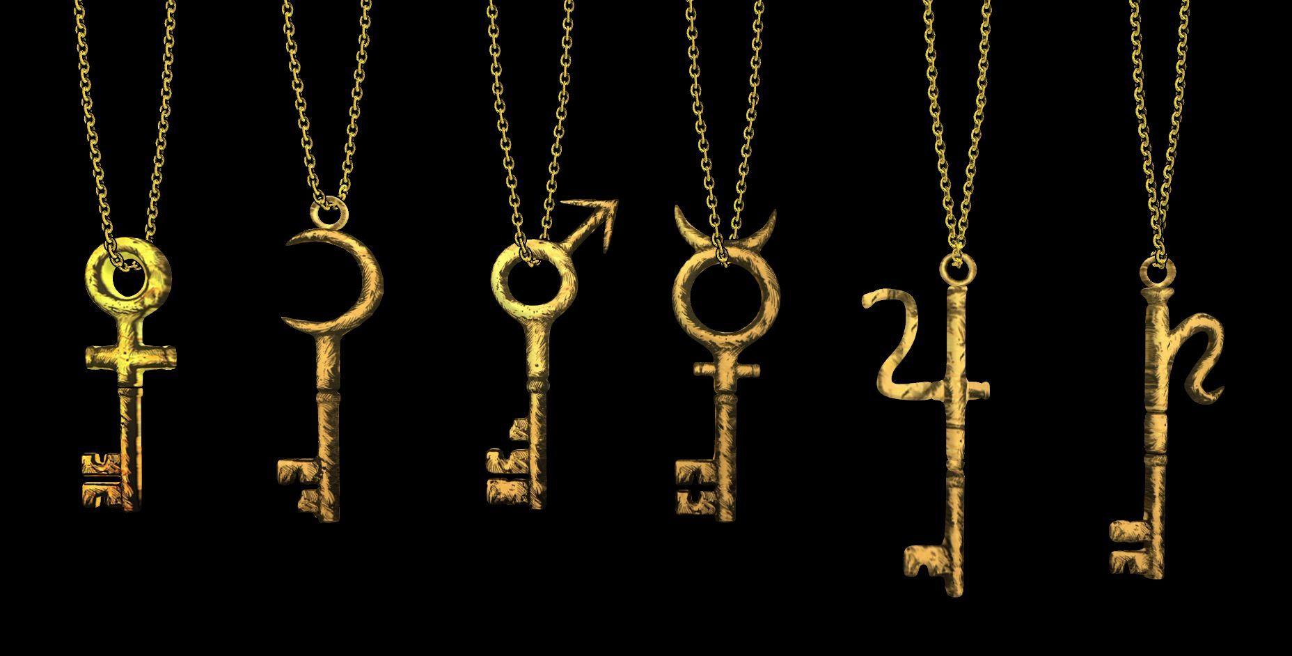 (Última pregunta, ¿Nervioso?) ¿Cuál de estas llaves abre la puerta de la habitación de la hermana de Alice?
