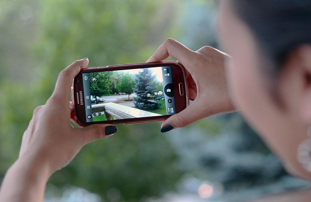 ¿Usas mucho el móvil para hacer fotografías?