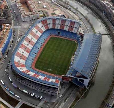 ¿Qué nombre recibe el estadio del Atlético de Madrid?